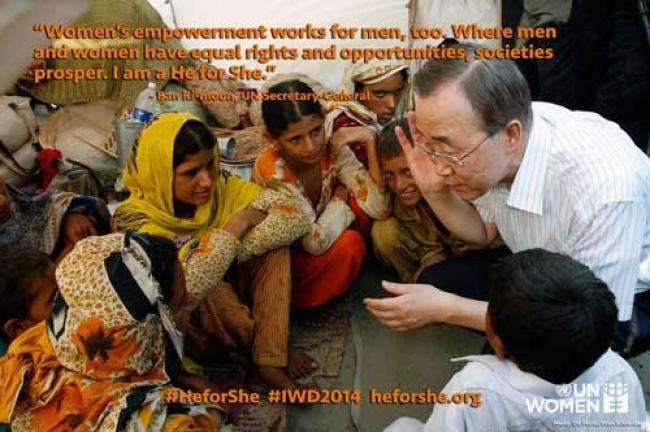 International Women's Day: UN seeks human rights for women