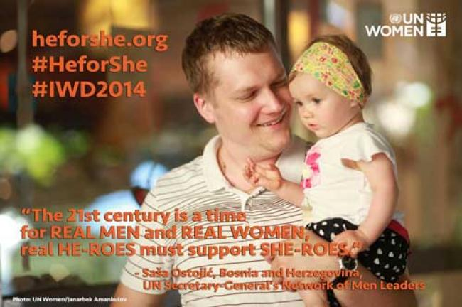 UN calls for engaging men in fight for gender equality