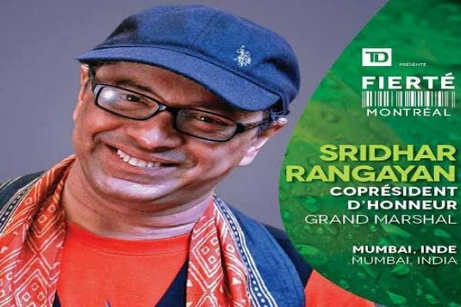 Filmmaker Sridhar Rangayan to be a Grand Marshal at Montreal Pride 2016