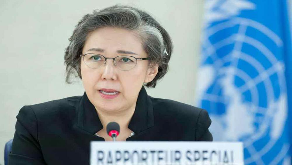UN rights expert urges restraint in security operation in Myanmar's Rakhine state