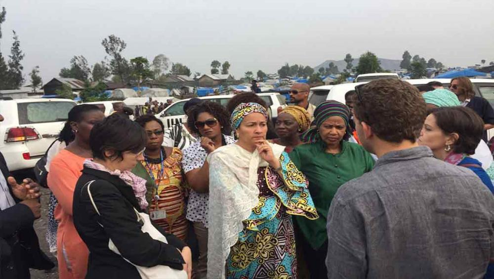 Wrapping up African trip, UN deputy chief vows to ensure displaced women return home in dignity