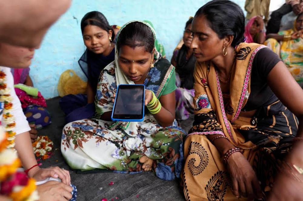 Internet Saathi: A friend in need