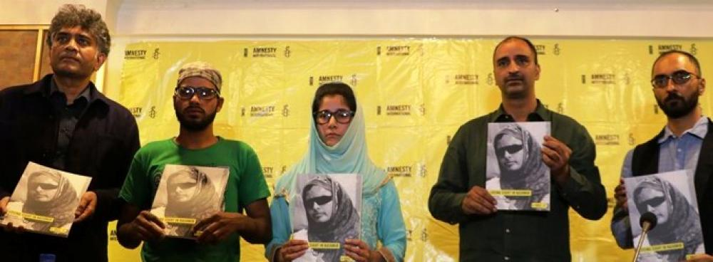 Pellet guns blinded, killed and traumatized Kashmiris: Amnesty