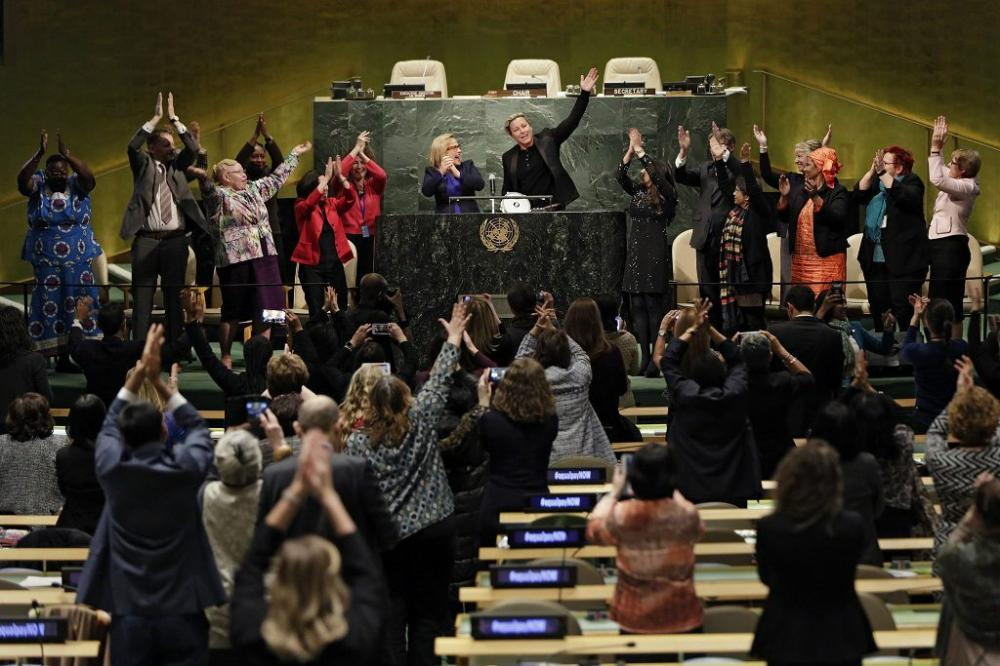 UN launches 'Platform of Champions' calling to end global gender pay gap