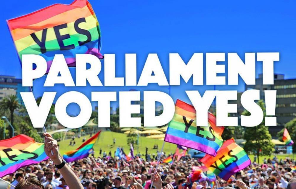 Australia legalises same sex marriages