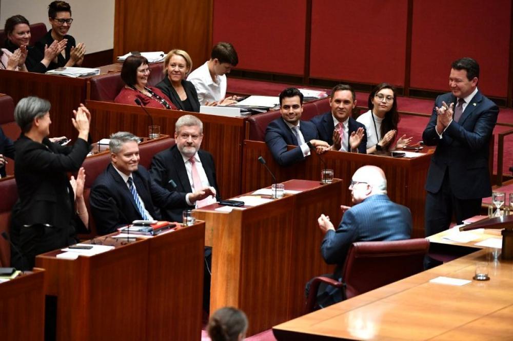 Australian Senate passes same-sex marriage bill