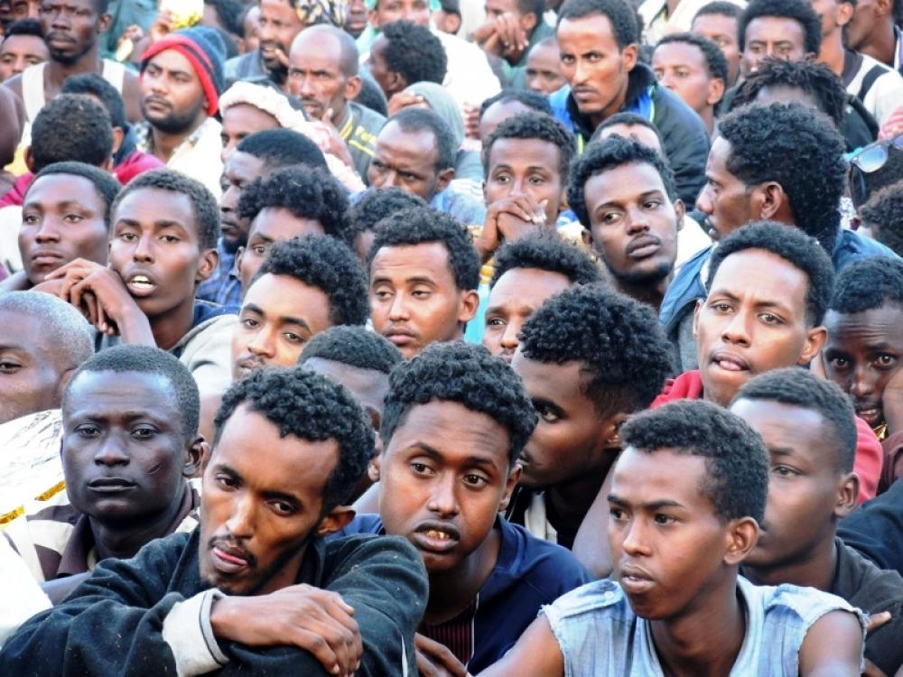 Libya's slave trade scars African migrants for life