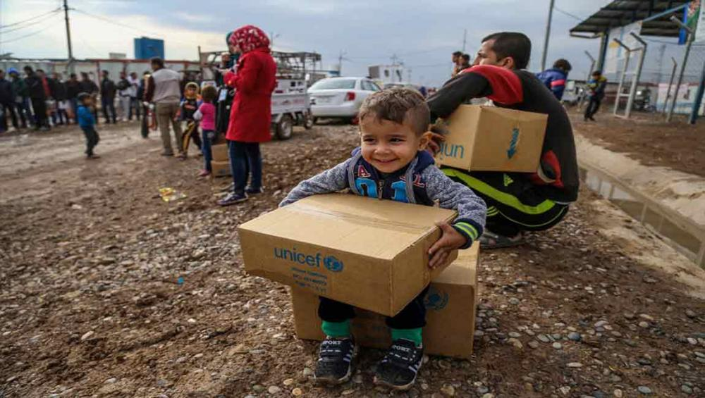 Winter may be 'harsh blow' to vulnerable children in Middle East, UNICEF warns amid funding gap