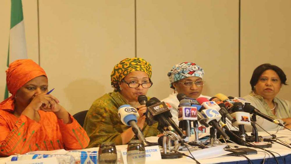 In Nigeria, UN deputy chief says 'messages of women' vital to sustainable peace, development