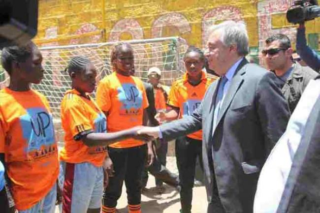 In Nairobi, UN chief Guterres marks International Women's Day, hails Kenya's role in multilateralism