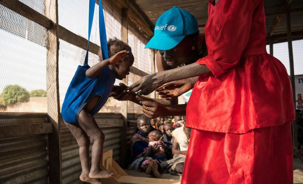 Around 22 million children could soon starve without urgent aid, UNICEF warns