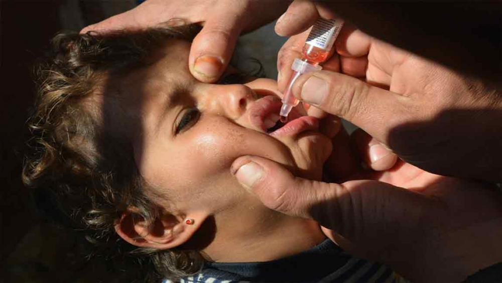 More than 350,000 children vaccinated against polio in hard to reach areas of Syria – UN