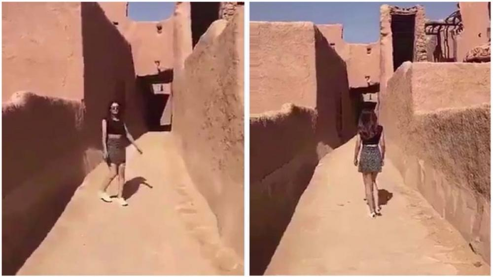 Woman wearing miniskirt arrested in Saudi Arabia where women rights is a moribund patient
