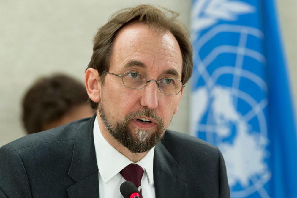 UN human rights chief urges probe into violence during referendum in Catalonia