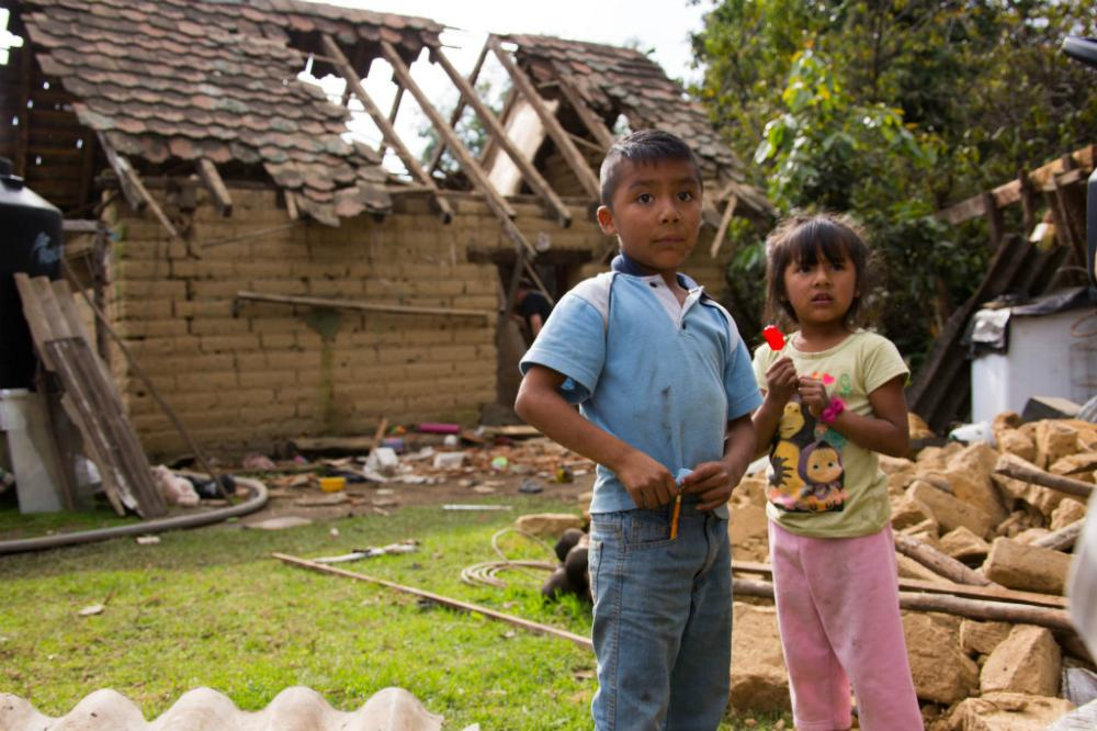 UNICEF urges child-centred budget decisions for rebuilding of quake-hit areas in Mexico