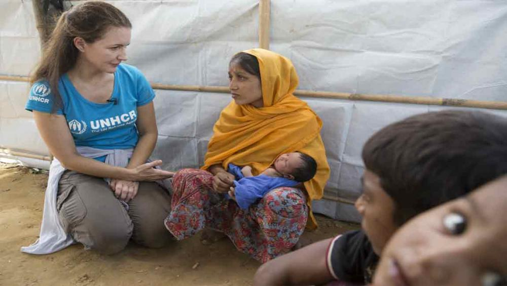 In Bangladesh, UN agency Goodwill Ambassador Kristin Davis urges action for Rohingya refugee children