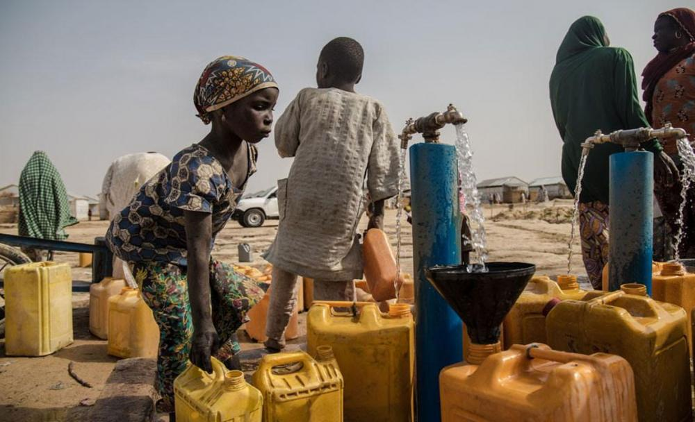 Children in countries facing famine threatened by lack of water, sanitation - UN agency