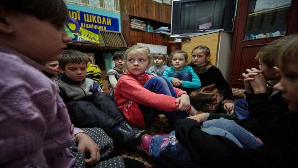 Ukraine: 750,000 children at risk of losing access to safe drinking water, warns UN
