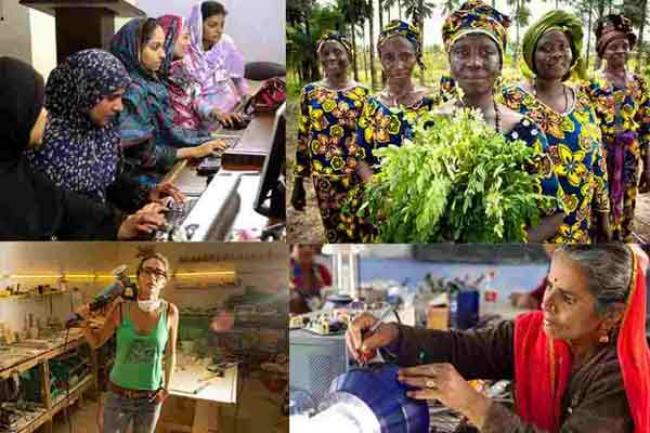 International Day, UN calls for women's full participation in labour force