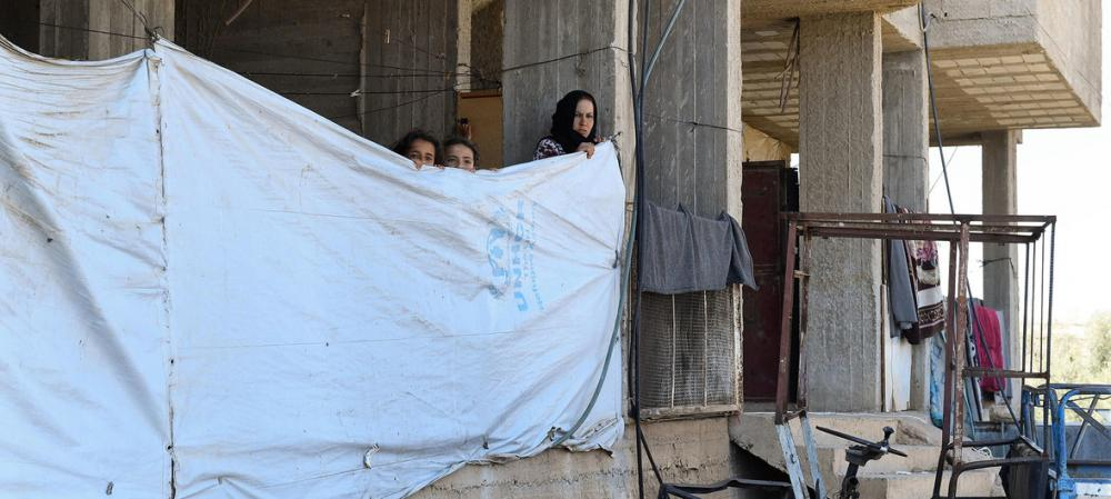 As many as 330,000 displaced by heavy fighting in south-west Syria – UN agency