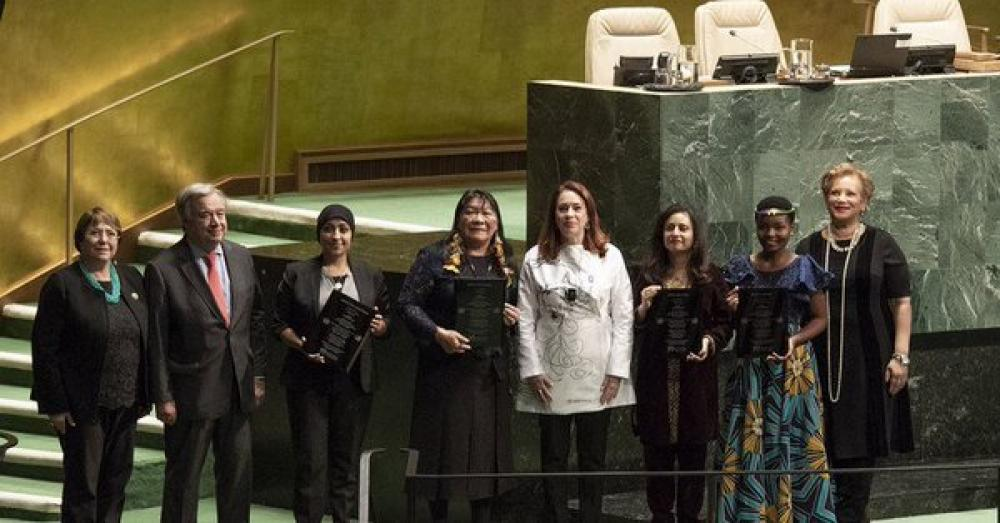 Human rights champions from across the world receive top UN prize