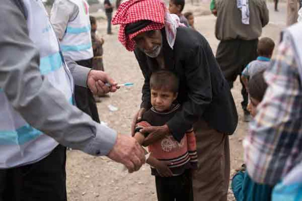 UNICEF helping to restore health services for children and families returning to war-torn Mosul