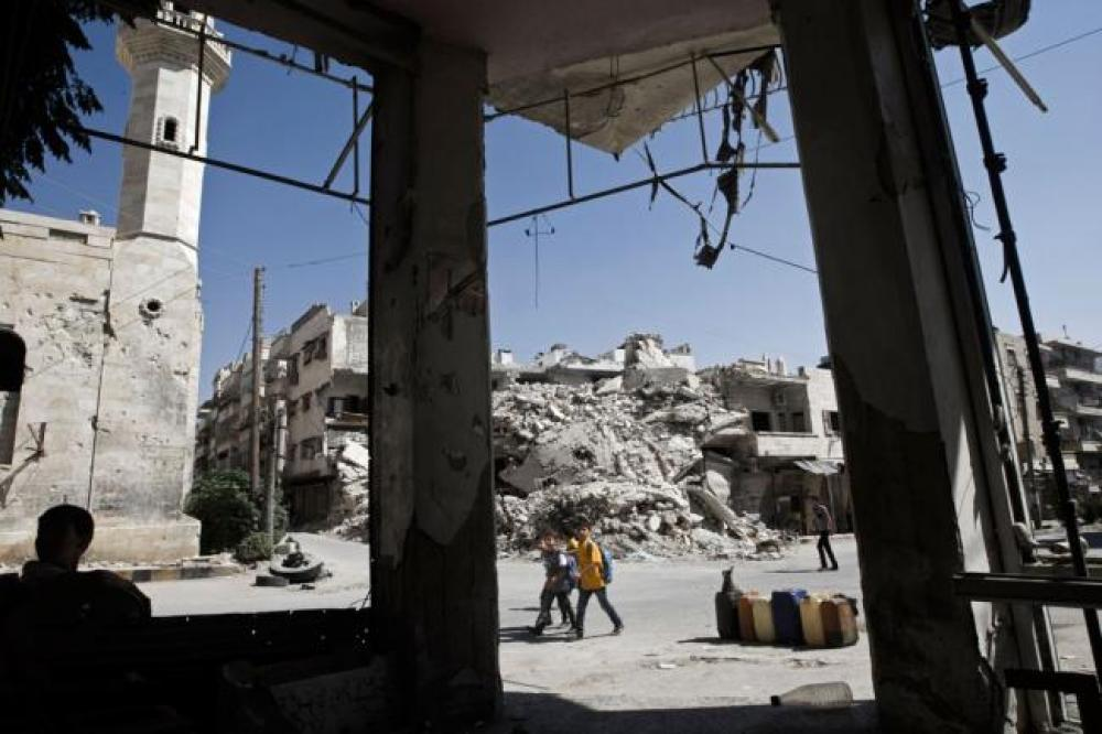 WHO says 500 patients showed symptoms of chemical attack in Syria