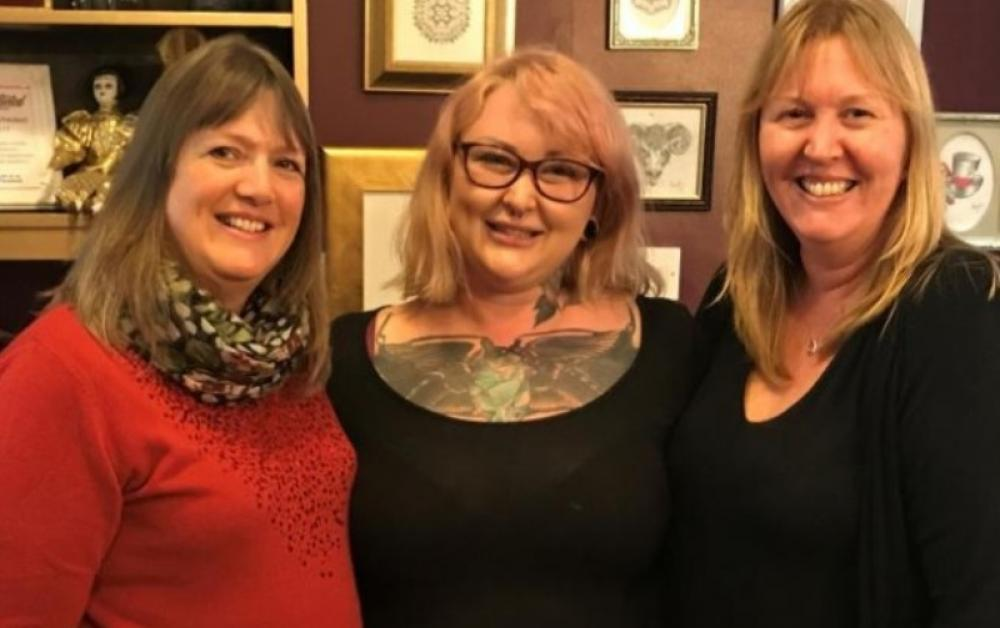 UK tattooist helping breast cancer survivors feel whole again with A.R.T