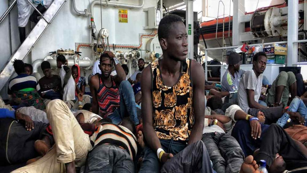 Despite drop in numbers, desperate migrants to Europe face greater perils, UN refugee agency reports