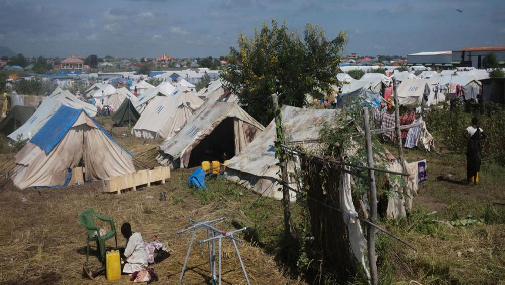 New home for scores of South Sudan's displaced