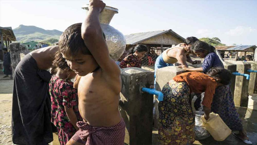 Rohingya children trapped in 'appalling' conditions in Myanmar's Rakhine state – UNICEF