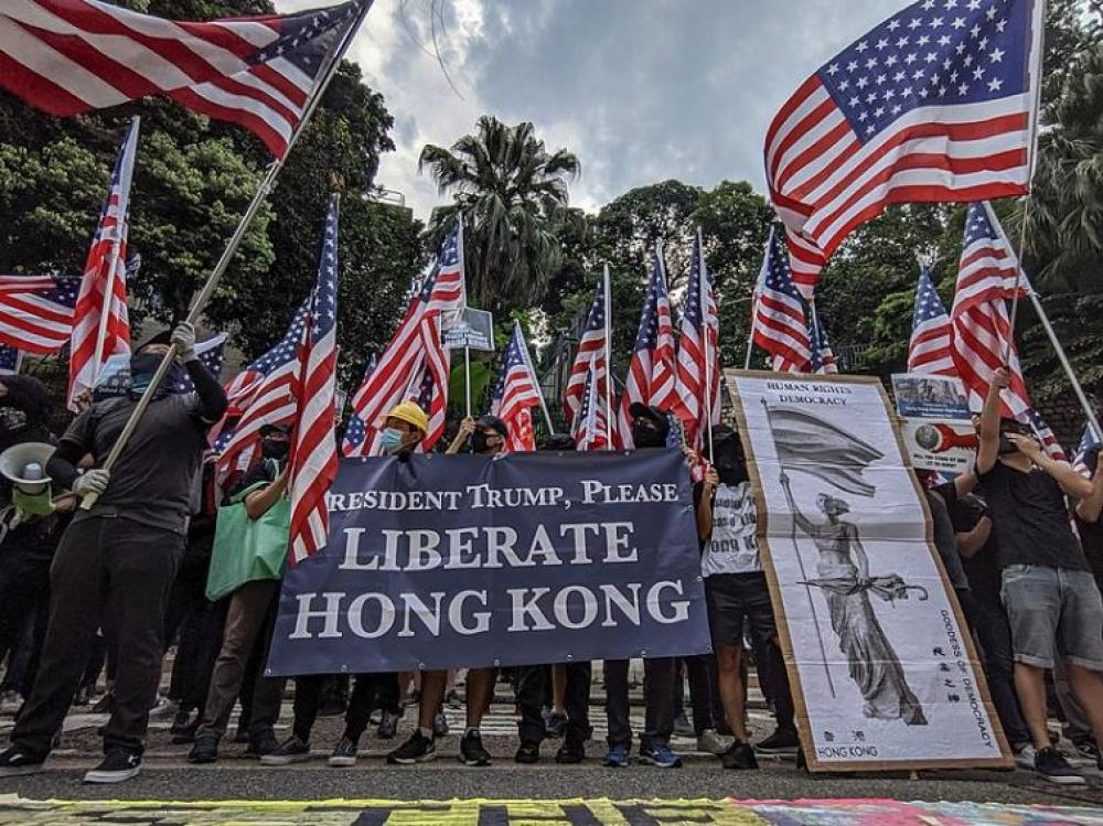 Thousands of people protesting in Hong Kong against anti-mask law: Reports
