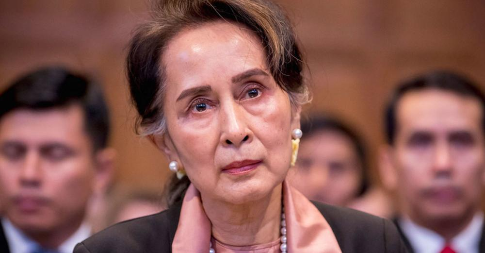 Aung San Suu Kyi appears at ICJ as UN rights expert urges greater protection for Myanmar activists