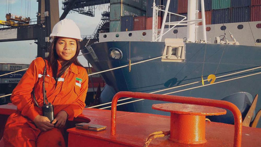UN shipping agency urges more women to climb aboard, fuel sustainable growth