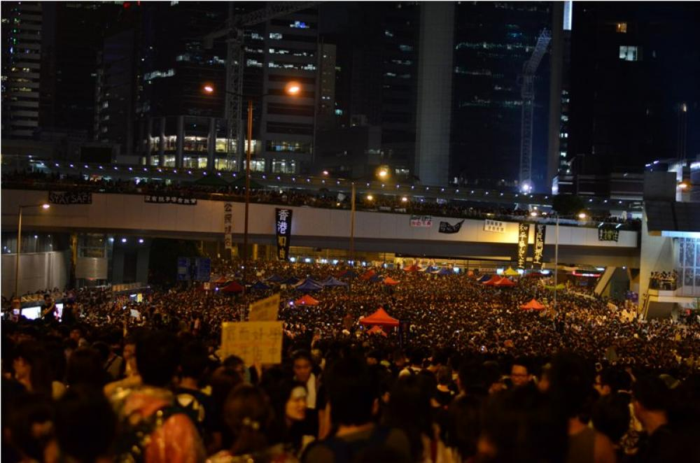 Hong Kong Protest against Chinese govt continues: 36 people arrested