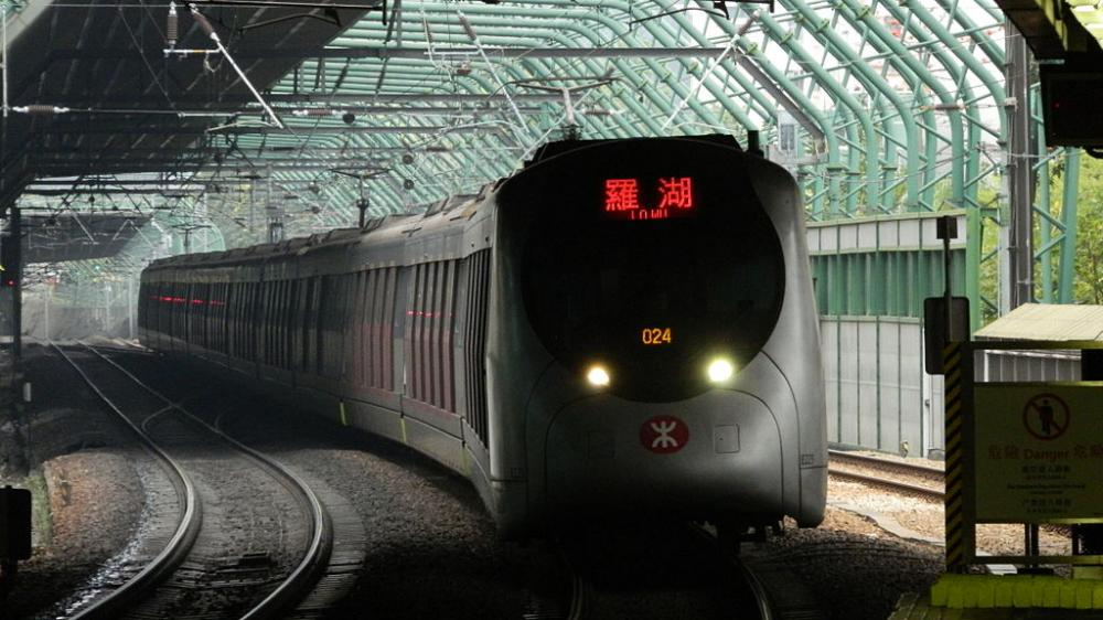 Hong Kong bans interfering with mass transit railway train services - Reports