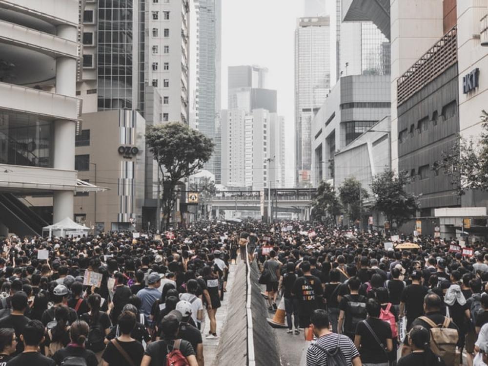 Hong Kong Legislative Council orders staff evacuation amid protest rally near building