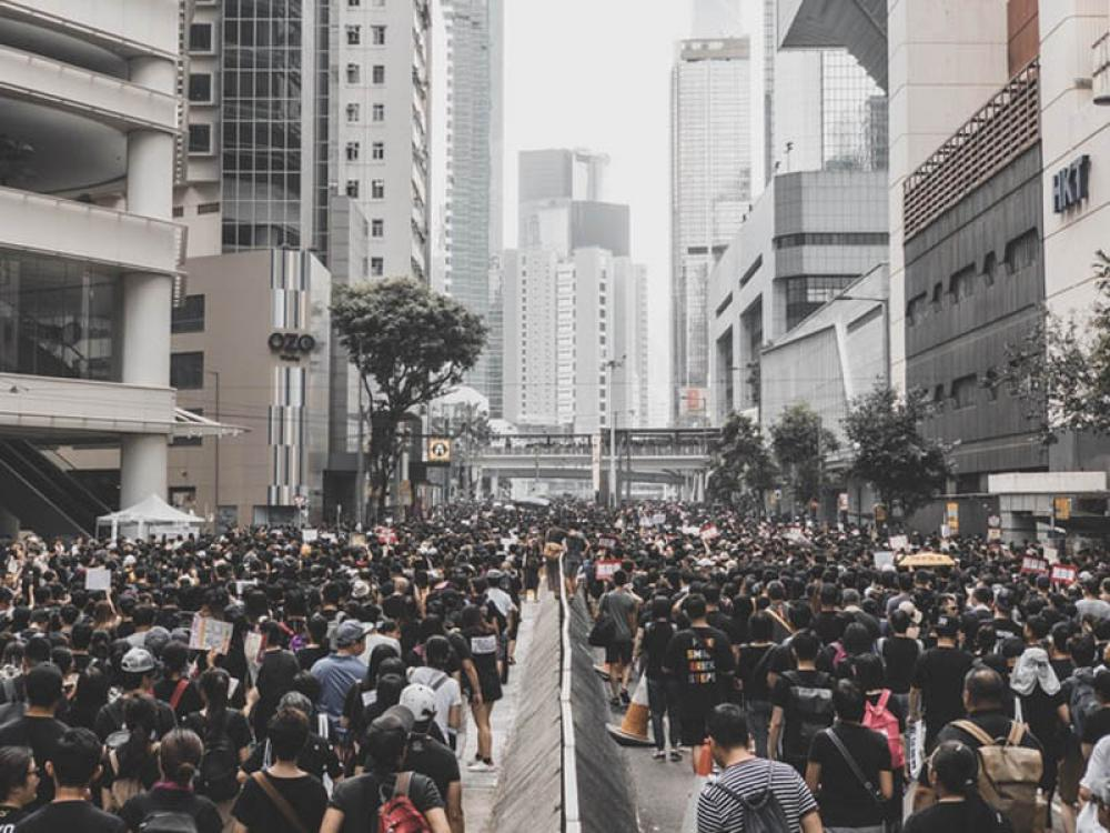 Hong Kong witnesses another weekend of protests