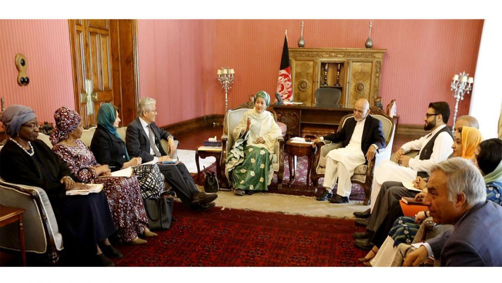 Inclusive peace in Afghanistan means 'women at the centre' urges UN deputy chief in Kabul