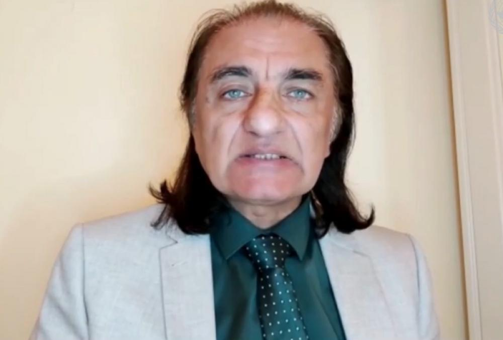 Human rights activist Amjad Ayub Mirza tells UNHRC how people in Pakistan occupied Jammu & Kashmir want to join India