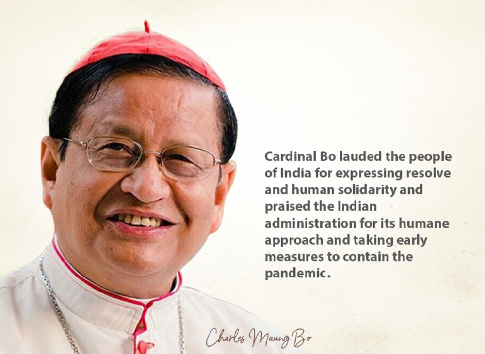 Covid 19: Catholic Church of Asia head Cardinal Charles Maung Bo holds Chinese govt accountable