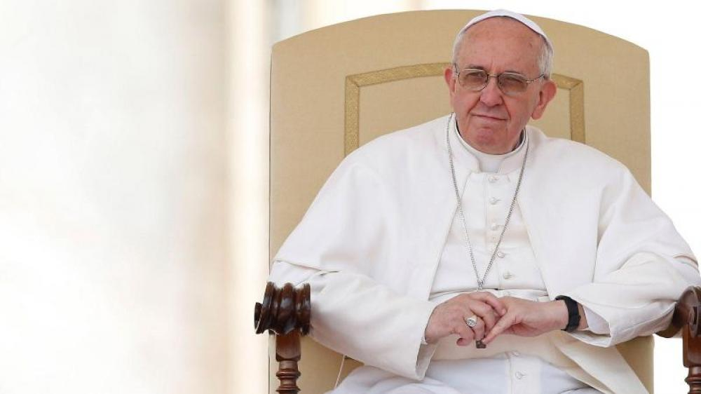 Pope Francis describes Uighurs of China as
