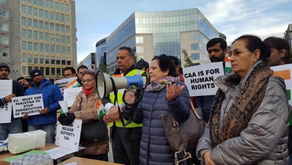 Indian diaspora in Belgium urges EU to act against Pakistan for minority persecution