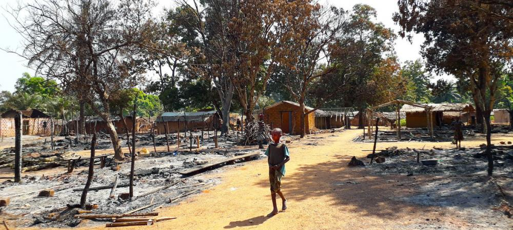 UN peacekeepers protecting hundreds displaced by Central African Republic fighting