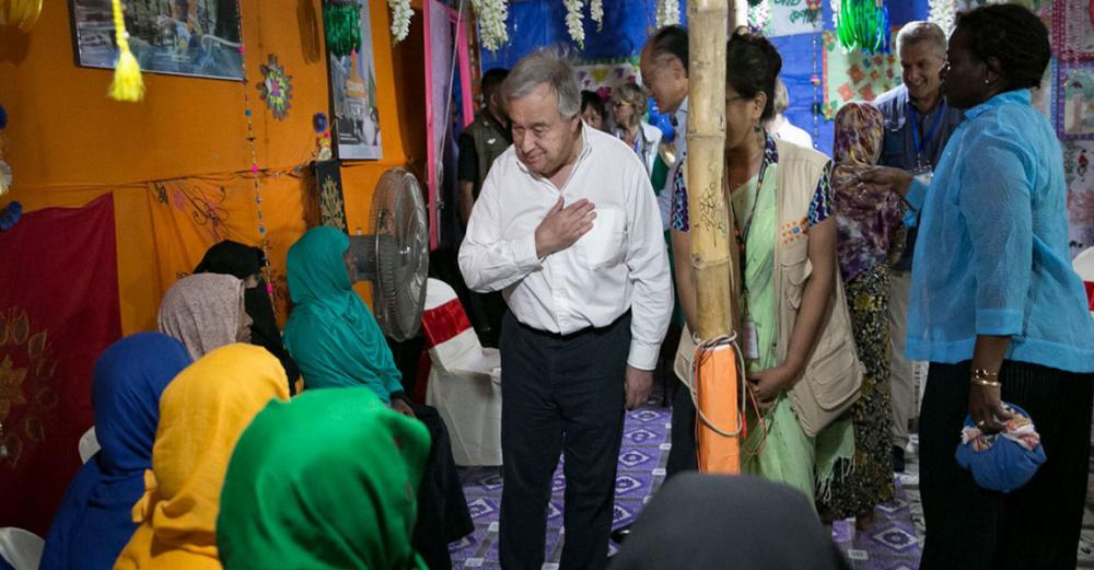 Address root causes of the Rohingya refugee crisis, urges UN chief