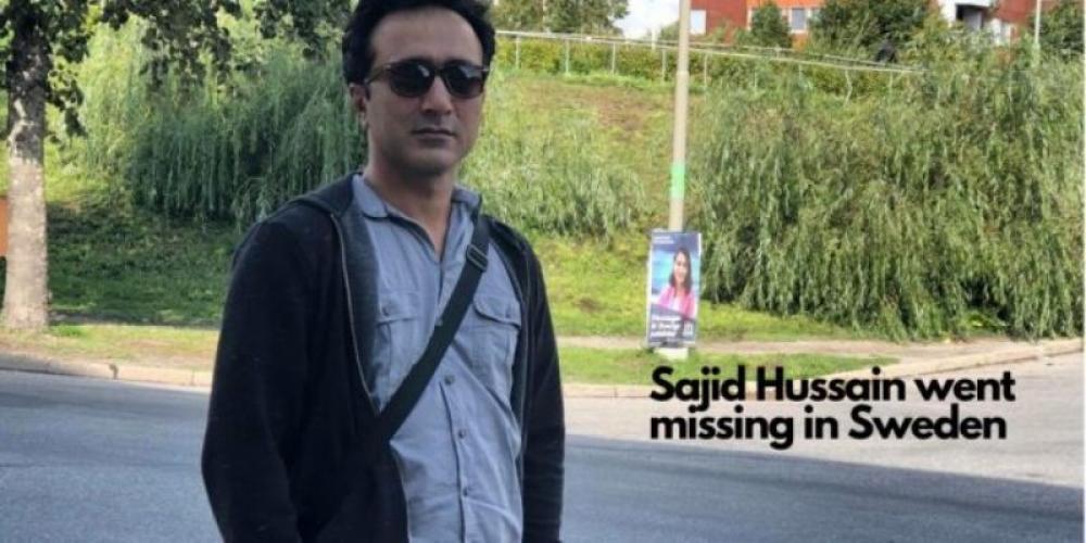 Baloch journalist goes missing in Sweden, Baloch National Movement suspects Pakistan ISI