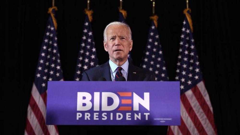 Joe Biden condemns Beijing
