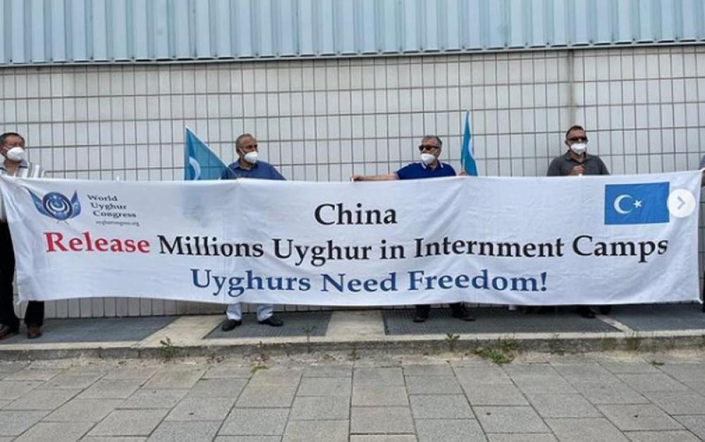 Chinese authorities take parents of Uyghur activist in custody