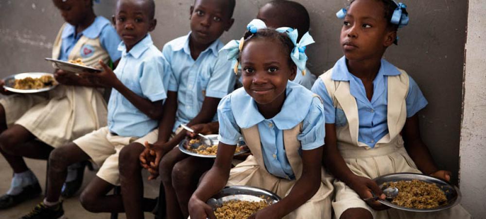 Haiti: funding gap threatens the lives of nearly 86,000 children