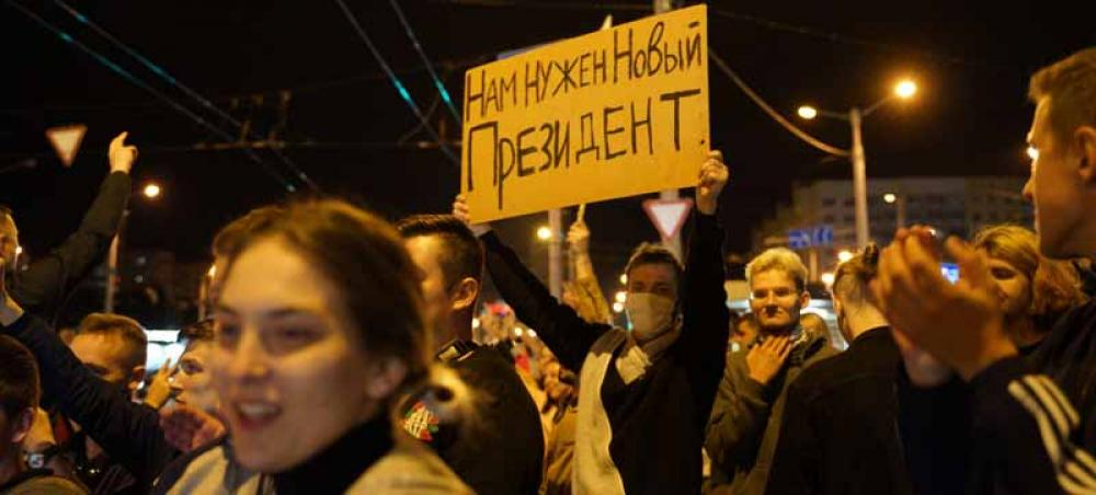 Rights experts decry 'black hole' for media freedoms in Belarus